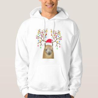 Christmas Alpaca Hooded Sweatshirt