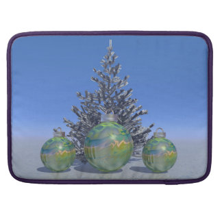 christmas and balls and tree sleeve for MacBooks