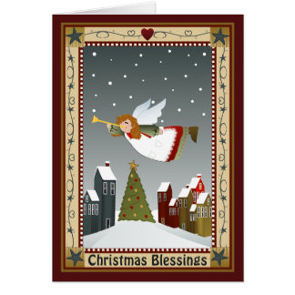 Christmas Angel 2 Note Cards