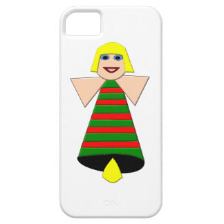 Christmas Angel Bell iPhone 5 Case