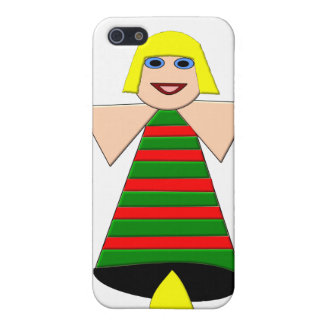 Christmas Angel Bell  iPhone 5 Cases