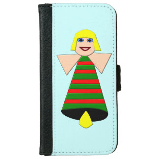 Christmas Angel Bell iPhone Wallet Case iPhone 6 Wallet Case