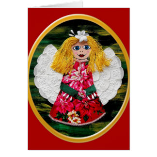 Christmas Angel Card