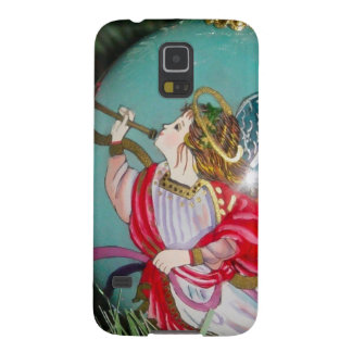 Christmas angel - christmas art -angel decorations cases for galaxy s5