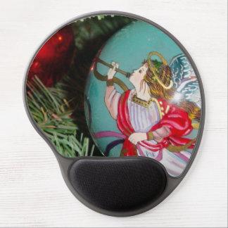 Christmas angel - christmas art -angel decorations gel mouse pad