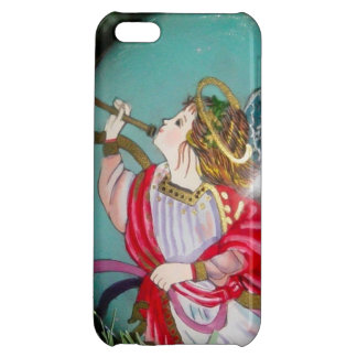 Christmas angel - christmas art -angel decorations iPhone 5C case