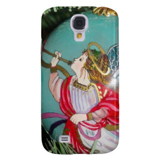Christmas angel - christmas art -angel decorations samsung galaxy s4 case