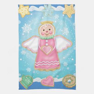 Christmas Angel Cookie Kitchen Towel
