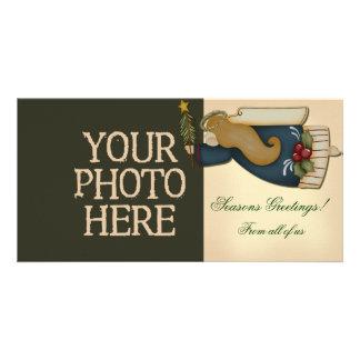 Christmas Angel Customised Photo Card