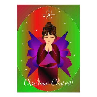 "Christmas Angel I 5"" X 7"" Invitation Card"