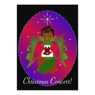 "Christmas Angel II 5"" X 7"" Invitation Card"
