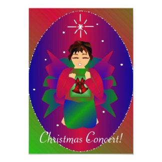 "Christmas Angel III 5"" X 7"" Invitation Card"