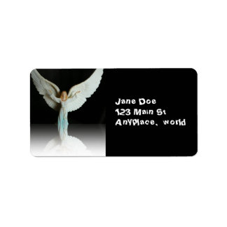 Christmas Angel label Address Label