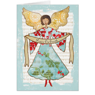 Christmas Angel Personalized Card