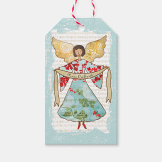 Christmas Angel Personalized Gift Tags