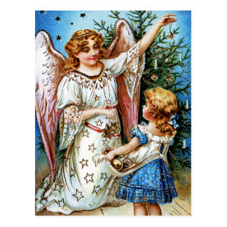 Christmas Angel Postcard
