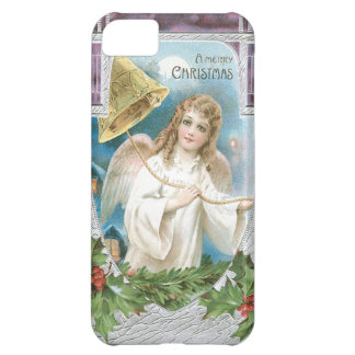 Christmas Angel ringing a bell iPhone 5C Case