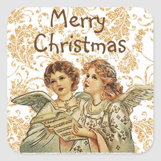 Christmas Angel Stickers to Seal your Envelopes