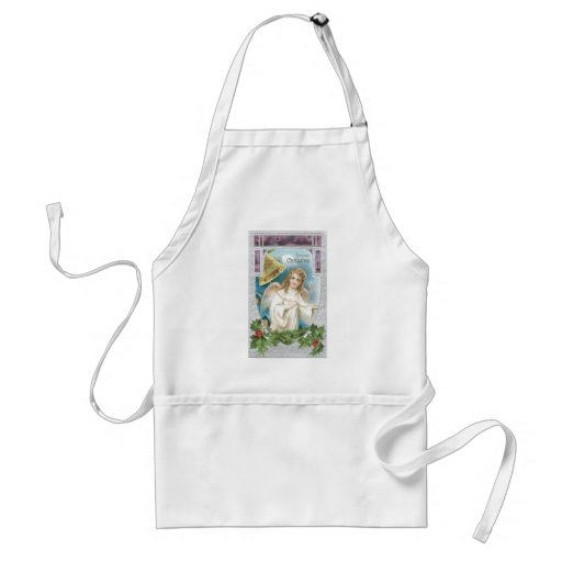 Christmas Angel with Bell Apron