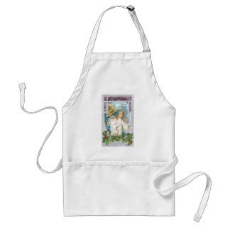 Christmas Angel with Bell Standard Apron