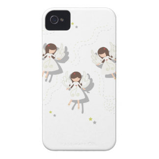 Christmas angels Case-Mate iPhone 4 cases