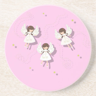 Christmas angels coaster