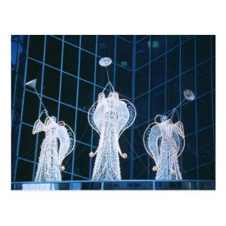 Christmas Angels in Rockefeller Center Post Card