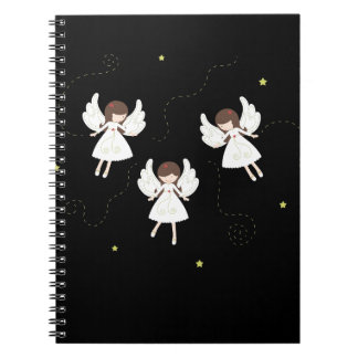 Christmas angels notebooks