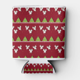 Christmas angels pattern can cooler