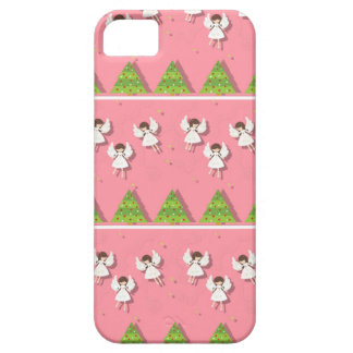 Christmas angels pattern case for the iPhone 5