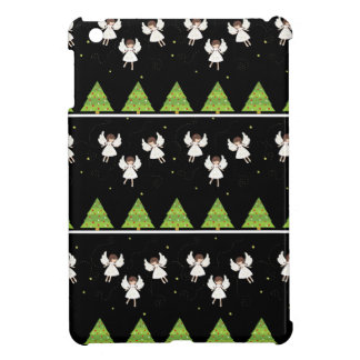 Christmas angels pattern cover for the iPad mini