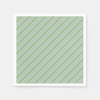 Christmas angels pattern disposable napkin