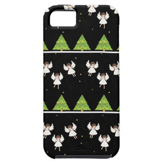 Christmas angels pattern iPhone 5 cover