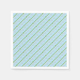 Christmas angels pattern paper napkin