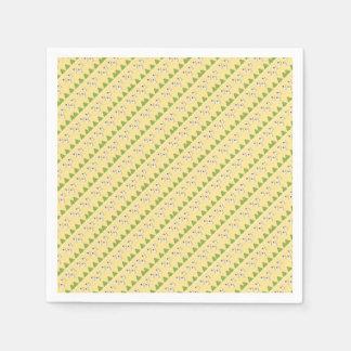 Christmas angels pattern paper serviettes