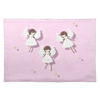Christmas angels placemat