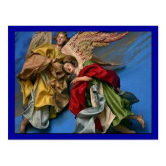 Christmas Angels Postcard