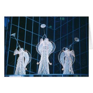 Christmas Angels Rockefeller Center Greeting Card