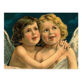 Christmas Angels - Vintage Art Post Cards
