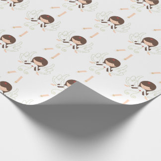 Christmas Angels Wrapping Paper