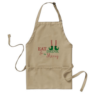 Christmas Apron- Holiday Gift or Decoration Standard Apron