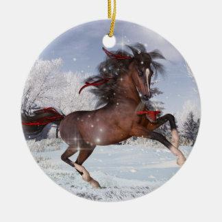 Christmas Arabian Horse Ornament