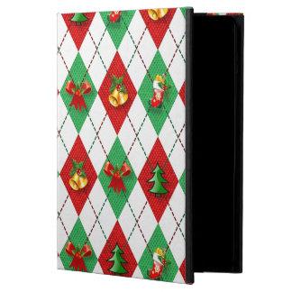 Christmas Argyle iPad Air Cases