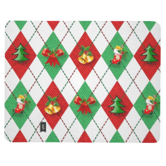 Christmas Argyle Journal