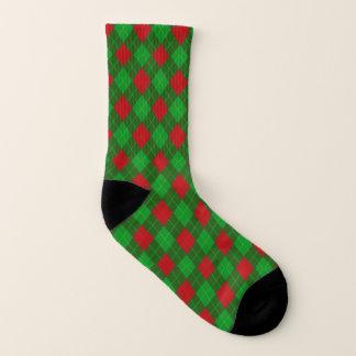 Christmas argyle pattern 1