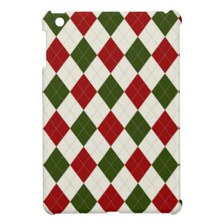 Christmas Argyle pattern Case For The iPad Mini