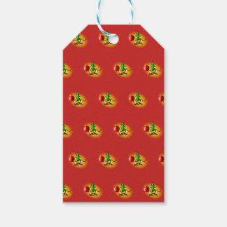 Christmas arrangement gift tags