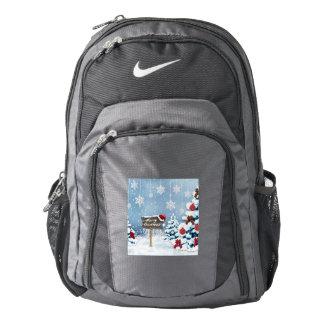 Christmas art - christmas illustrations backpack