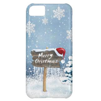 Christmas art - christmas illustrations iPhone 5C case
