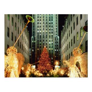 Christmas at Rockefeller Center Postcard